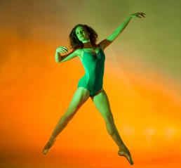 Ballet Arkansas orange