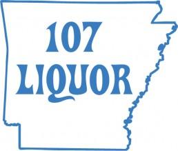 107 Liquor Logo